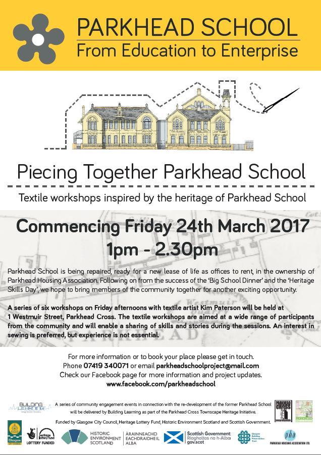 parkhead school poster