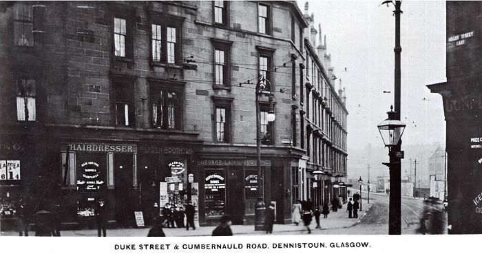 Dennistoun - Parkhead History