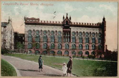 Templetons Carpet Factory Bridgeton