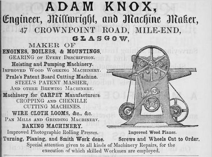adam knox 1840