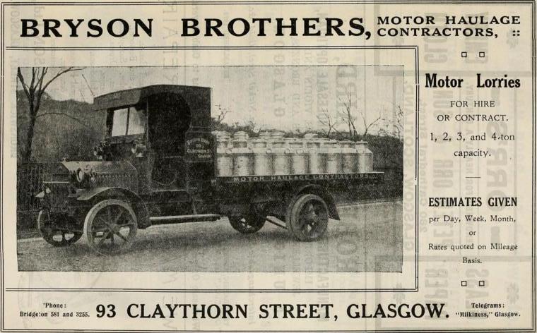brtson bros 1918